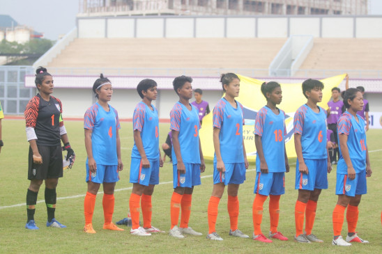 महिला फुटबाल : भारत ने जीता सैफ अंडर-15 महिला चैंपियनशिप खिताब