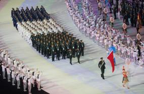 विश्व सैन्य खेल का चीन के वुहान में उद्घाटन