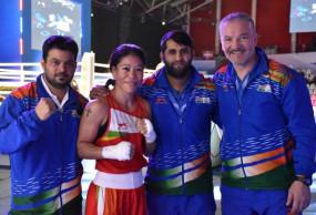 World Women's Boxing C'ship : मैरी कॉम सेमीफाइनल में, टूर्नामेंट में 8वां मेडल पक्का किया