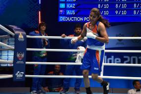 विश्व महिला मुक्केबाजी : मंजू रानी क्वार्टर फाइनल में (लीड-1, इंट्रो में संशोधन के साथ)