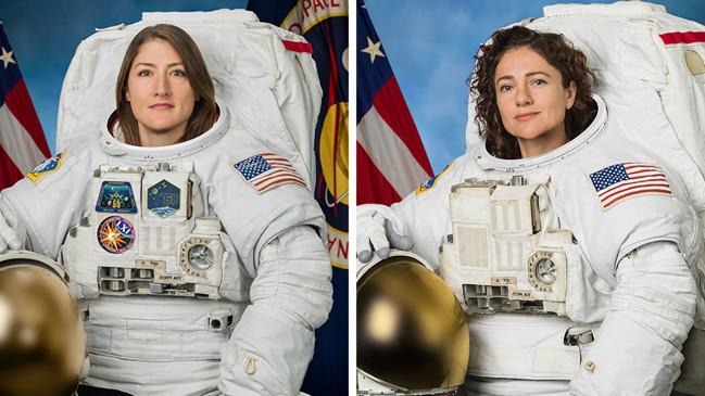 नासा की महिला एस्ट्रोनॉट्स ने रचा इतिहास, पहली बार मेल क्रूमेट के बिना स्पेसवॉक