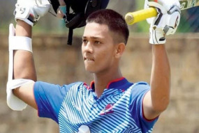 विजय हजारे ट्रॉफी में दोहरा शतक लगाने वाले तीसरे बल्लेबाज बने 17 साल के यशस्वी