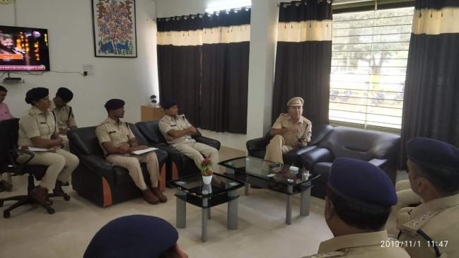 अयोध्या फैसले को लेकर प्रशासन मुस्तैद, पुलिस अधिकारियों को तत्पर रहने के निर्देश