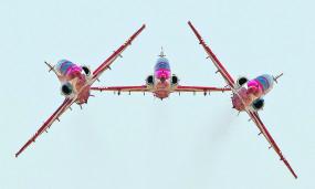 एयर फेस्ट-2019 : देखकर रह जाएंगे दंग, आसमान में जलवे दिखाएंगे वायुसेना के विमान और हेलीकॉप्टर