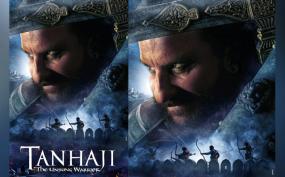 तानाजी में सैफ के योद्धा वाले पोस्टर को अजय, काजोल ने शेयर किया