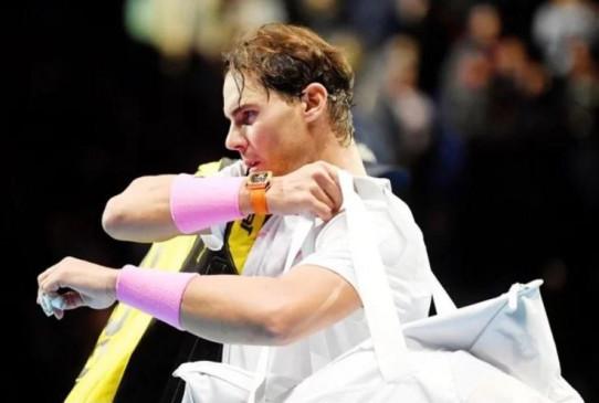 ATP world tour finals: नडाल टूर्नामेंट से बाहर, ज्वेरेव ने दी मात