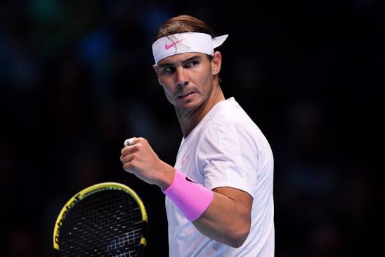 ATP world tour finals: नडाल टूर्नामेंट के सेमीफाइनल में पहुंचे, मेदवेदेव को हराया