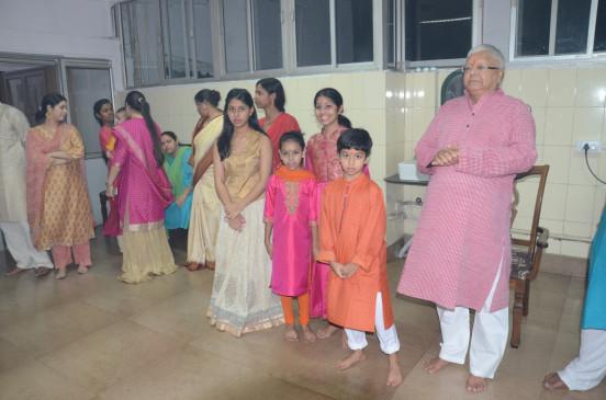 बिहार : मुख्यमंत्री आवास में छठ को लेकर उत्साह, राबड़ी आवास पर उदासी