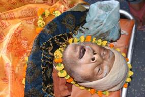 बिहार : महान गणितज्ञ डॉ़ वशिष्ठ पंचतत्व में विलीन, हजारों लोगों ने दी अंतिम विदाई