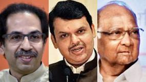 बीजेपी ने कहा हम बनाने जा रहे हैं सरकार- शिवसेना ने दी चुनौती, दिनभर चला कांग्रेस-एनसीपी से मुलाकातों कौ दौर