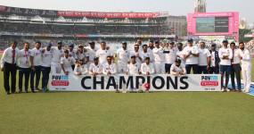 भारतीय टीम ICC वर्ल्ड टेस्ट चैंपियनशिप में मजबूती के साथ टॉप पर