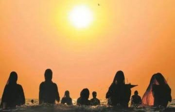 भगवान सूर्य को अर्घ्य देने उमड़ा जनसैलाब, उत्सव की धूम