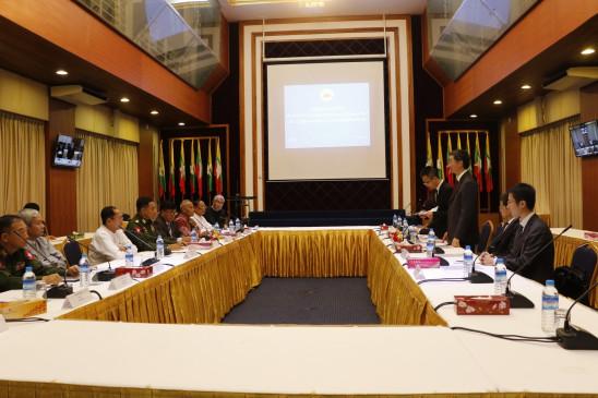 चीन ने म्यांमार की शांति प्रक्रिया में मदद की