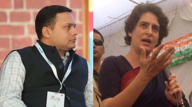 प्रियंका के मोबाइल हैक के दावों को बीजेपी ने नकारा, कहा- उनके नेताओं की विश्वसनीयता का यही स्तर