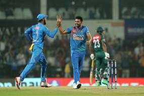 दीपक टी-20 में हैट्रिक लेने वाले पहले भारतीय गेंदबाज बने, बोले-सपने में भी ऐसा नहीं सोचा था