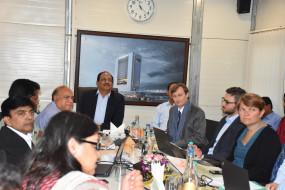 नागपुर मेट्रो के दौरे पर आया फ्रांस और जर्मनी का शिष्टमंडल