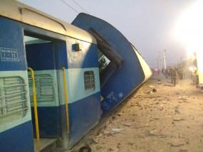 दिल्ली : निजामुद्दीन रेलवे स्टेशन पर पैसेंजर ट्रेन का कोच पटरी से उतरा