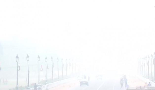 दिल्ली में जहरीली हवा का कहर,गुरुग्राम-गाजियाबाद में हालत बदतर