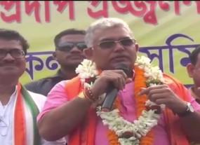 बंगाल बीजेपी अध्यक्ष दिलीप घोष का बीफ खाने वाले पर हमला, बोले- कुत्ते का मांस भी खाएं