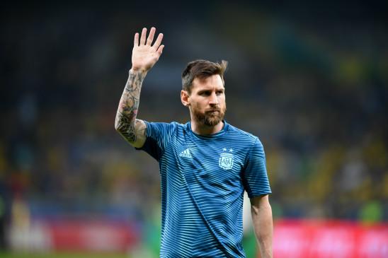 फुटबाल : मेसी ने वापसी पर ब्राजील के खिलाफ दागा गोल