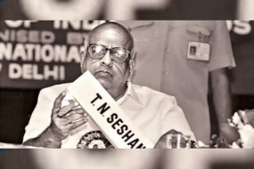 चुनाव सुधारक पूर्व मुख्य चुनाव आयुक्त टीएन शेषन का निधन, PM मोदी ने जताया शोक