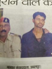 महिला यात्री के सोने के जेवरात चुराने वाले को जीआरपी ने दबोचा