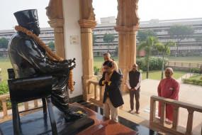 हेगड़ेवार स्मारक पहुंचे अयोध्या में खिदाई करने वाले के. के मोहम्मद, संघ से की चर्चा