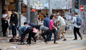 राज्य परिषद के हांगकांग और मकाओ मामलात कार्यालय ने हांगकांग हिंसकों की निंदा की