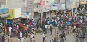 हैदराबाद: थाने में बंद थे आरोपी, सैकड़ों लोगों ने घेरा थाना, पुलिस ने खदेड़ा