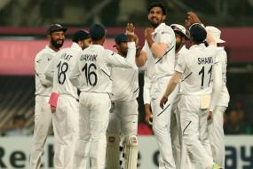 IND-BAN: दूसरी पारी में भी बांग्लादेश ने घुटने टेके, भारत जीत से चार विकेट दूर