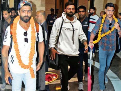 IND VS BAN 1st test: विराट सहित टीम इंडिया इंदौर पहुंची, आज होल्कर स्टेडियम में करेंगे अभ्यास