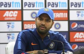 IND VS BAN: रोहित ने कहा, दूसरे टी-20 मैच में टीम पर अच्छा प्रदर्शन करने का दबाव