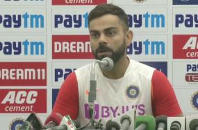 IND VS BAN: विराट कोहली ने कहा- पिंक बॉल से खेलने के लिए ज्यादा कंसंट्रेशन की जरुरत