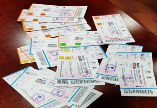 भारत-बांग्लादेश डे-नाइट टेस्ट मैच : टिकट ब्लैक में बेचने के आरोप में 6 और गिरफ्तार