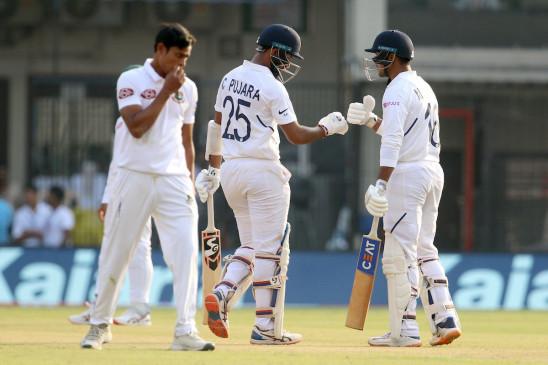 IND VS BAN 1st test Live: थोड़ी देर में शुरू होगा दूसरे दिन का खेल