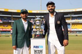 IND VS BAN 1st test LIVE: बांग्लादेश के 4 विकेट गिरे, अश्विन ने मोमीनुल को आउट किया