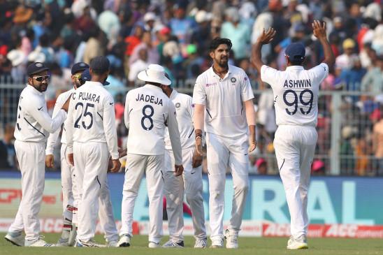 IND VS BAN Pink ball test: भारत ने पहले दिन 3 विकेट गंवाकर 174 रन बनाए, 68 रन की बढ़त