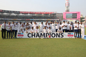 IND VS BAN: भारत ने जीता पहला डे-नाइट पिंक बॉल टेस्ट, सीरीज भी 2-0 से जीती