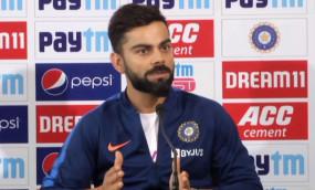 IND VS BAN: कोहली ने कहा- टेस्ट क्रिकेट को केवल मनोरंजन के रूप में नहीं ले सकते