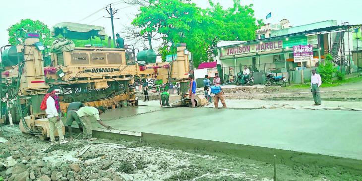सीमेंट रोड  की गुणवत्ता व काम को लेकर नहीं मिली एक भी शिकायत -मनपा
