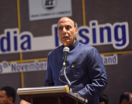 झारखंड में गृहमंत्री राजनाथ बोले- अब देश में नहीं होंगे दो संविधान