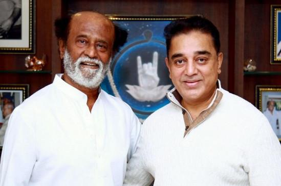 रजनीकांत ने कहा, तमिलनाडु की भलाई के लिए जरुरत पड़ी तो हासन से मिलाएंगे हाथ