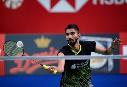 किदांबी श्रीकांत सैयद मोदी इंटरनेशनल बैडमिंटन चैंपियनशिप के दूसरे राउंड में पहुंचे