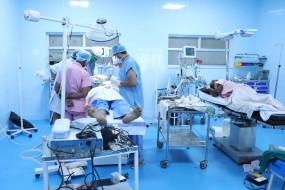 राहत-2 स्वास्थ्य शिविर में मरीजों की लगी लंबी कतार, गंभीर बीमारियों का हो रहा उपचार