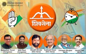 महाराष्ट्र: CM उद्धव ठाकरे के साथ इन 6 नेताओं ने ली मंत्री पद की शपथ