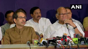 शरद बोले- सरकार हम ही बनाएंगे, बहुमत साबित नहीं कर पाएगी BJP
