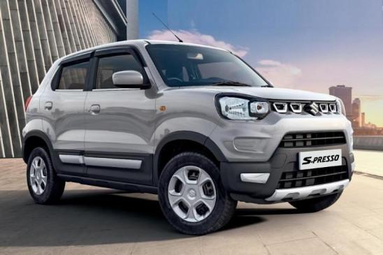 Maruti S-Presso को शानदार रिस्पॉन्स, टॉप 10 बेस्ट सेलिंग कारों में शामिल हुई