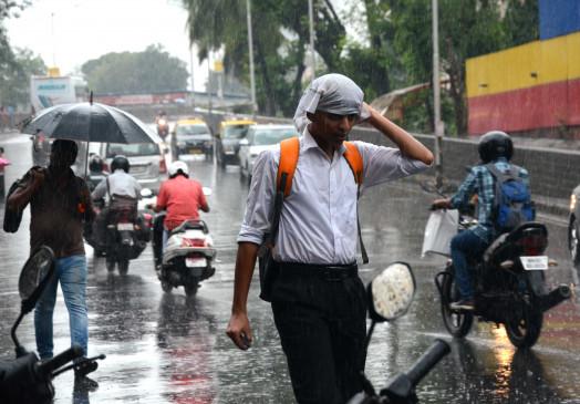 सावधान ! 24 घंटे में कोकण सहित राज्य के कई हिस्सों में हो सकती है बारिश -फिर हलकान हुई मुंबई