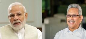 मोदी ने श्रीलंका के नए राष्ट्रपति राजपक्षे को दी बधाई, भारत आने का न्योता भी दिया