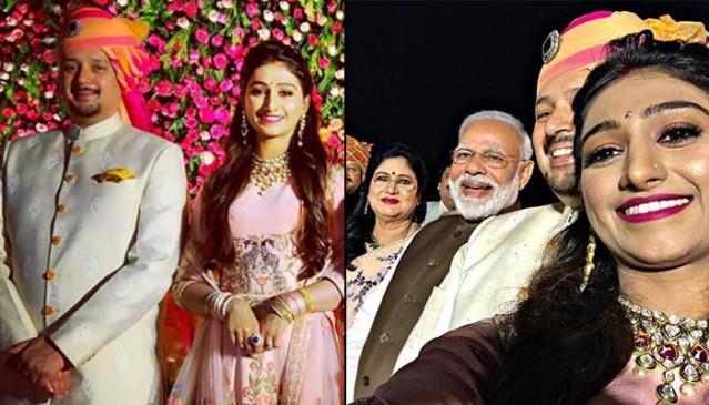 राजकुमारी मोहेना कुमारी की शादी के रिसेप्शन में प्रधानमंत्री ने की शिरकत